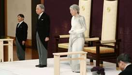 End of an era as Japan's emperor abdicates