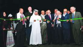 Officials and dignitaries at the inauguration of the festival on Thursday