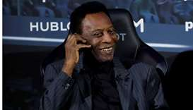 Recovering Pele set to return to Brazil on Monday: advisor