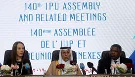 Doha IPU meet a befitting reply to false charges by siege countries