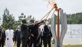 Rwanda honours those killed in genocide 25 years ago