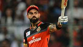 Royal Challengers Bangalore captain and batsman Virat Kohli