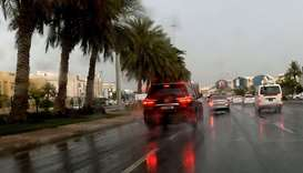 Met warns of thundery rain, strong winds on Sunday