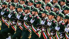 US names Iran's Revolutionary Guards terrorist group