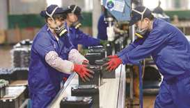 China's factory activity unexpectedly expands