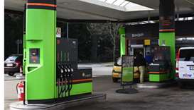 Men wearing face masks rob Berlin petrol station