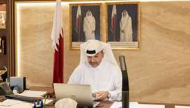 HE the Minister of Administrative Development, Labour and Social Affairs (MADLSA) Yousuf bin Mohamed