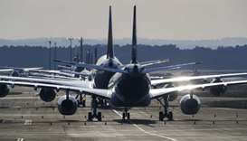 Airlines grapple with a new problem: Where to park idling planes?