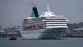 German-owned quarantined cruise ship finally leaves Australia
