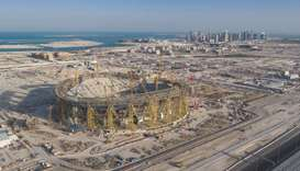 Lusail Stadium is proposed to host the FIFA World Cup Qatar 2022 final.