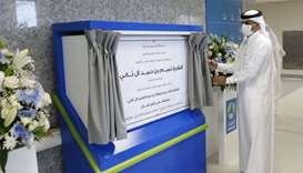 PM opens Ras Laffan Hospital, Ruwais Health Centre