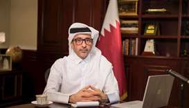 HE the Minister of Culture and Sports Salah bin Ghanem al-Ali