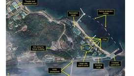 Satellite images of luxury boats further suggest N.Korea's Kim at favoured villa