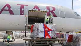 Qatar sends urgent medical aid to 4 countries to support efforts to combat Covid-19 pandemic