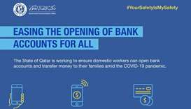 Opening bank accounts for domestic workers made easier