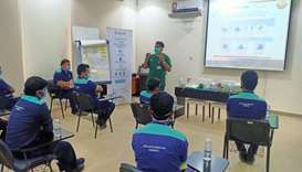 QRCS volunteers actively engaged on coronavirus control efforts