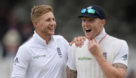 England Test captain Joe Root (left) and his players, including Ben Stokes, have made an initial don