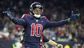 Wide receiver DeAndre Hopkins.
