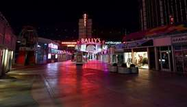 The Grand Bazaar Shops at Bally's Las Vegas on the Las Vegas Strip remain closed as a result of the