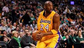 File photo of Los Angeles Lakers shooting guard Kobe Bryant. PICTURE: USA TODAY Sports