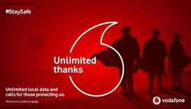 Vodafone salutes frontline workers in Covid-19 battle