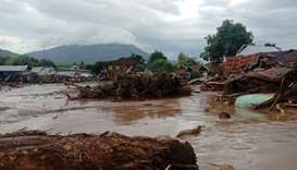 New cyclone barrels toward disaster-struck Indonesia