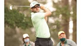 Canada's Conners aces par-3 sixth in Masters charge