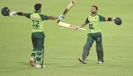 Rizwan steers Pakistan to their highest T20 chase