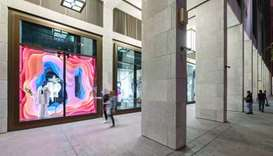 Off runways and into window displays, VCUarts Qatar has joined hands with Msheireb Downtown Doha and