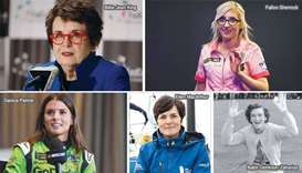 5 women trailblazers in sport.