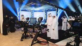 QMC opens new studios in honour of Jassim Abdulaziz's media career
