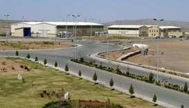 The Natanz nuclear facility in Iran lost power on Sunday.  It houses centrifuges used for uranium en