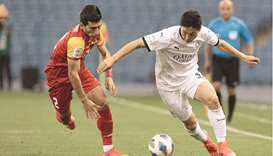 Boualem Khoukhi scored in the 89th minute as Al Sadd fought back to hold Foolad Khouzestan 1-1 in Gr