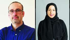 Dr Raian Ali and Dr Dena al-Thani