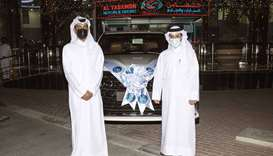 QIB announces first Lexus LX 570 winner of Salary Transfer car draw- The Winner Omar Al Mulla receiv