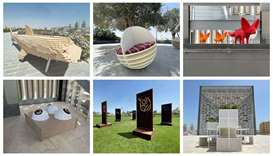 Qatar Museums, in partnership with Qatari Diar, unveils new public art installations by local students