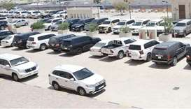 Traffic Dept seizes 350 vehicles for violations