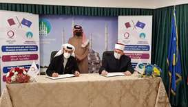 Qatar Charity signs three agreements to implement projects in Kosovo