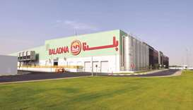 A view of the Baladna plant. Qatar's most successful greenfield dairy farm has chalked out an ambiti
