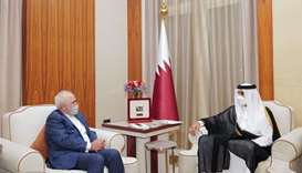 Amir receives message from Iranian president
