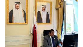 HE the Ambassador of Qatar to Italy and Permanent Representative to the United Nations agencies in R