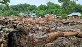 Over 50 dead after flash floods in Indonesia and Timor Leste