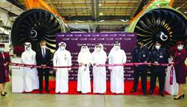 Qatar Airways formally opens new state-of-the-art Engine Facility
