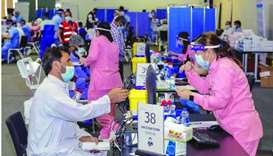 New measures aim to improve entry and waiting process for vaccination at QNCC