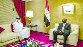 Head of Sudan Sovereignty Council meets FM