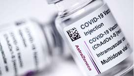 Vials of the AstraZeneca Covid-19 vaccine