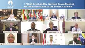First high-level meet held to organise 6th GECF Summit in Doha in November