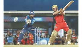 De Villiers stars as Bangalore win opener