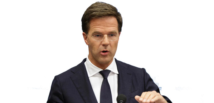 Dutch PM condemns attack on shelter for Syrian refugees