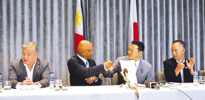 Japan, Manila in landmark sea pact
